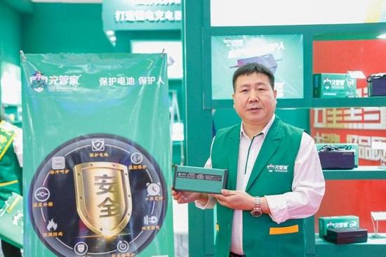 试推一段时间后 几十家电动车品牌店点名要充管家充电器